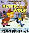 605 Walt Disney Presents Peter And The Wolf