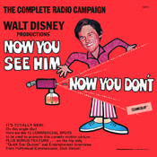 Walt Dinsey Productions' Now You See Him... Now You Don't #DIS-72-1